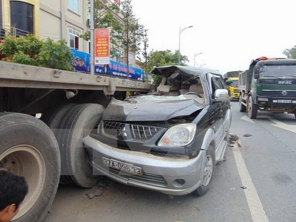 Disminuyen accidentes de trafico durante julio hinh anh 1