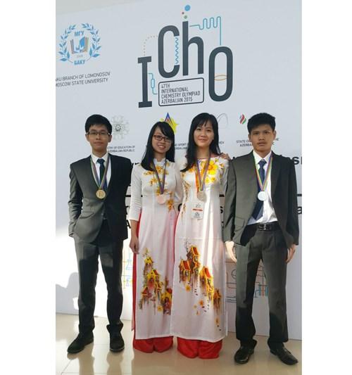 Gana Vietnam oro en Olimpiada Internacional de Quimica hinh anh 1