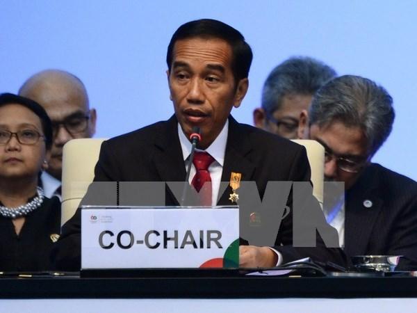 Singapur e Indonesia firman acuerdos bilaterales hinh anh 1