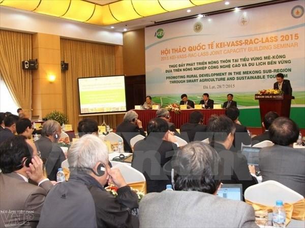 Conferencia intercional sobre desarrollo agricola hinh anh 1