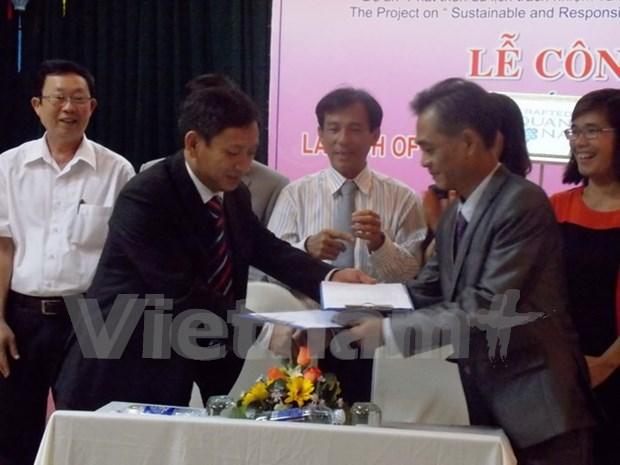 Lanza Quang Nam cuno autentico para productos artesanales hinh anh 1