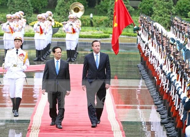 Vietnam y Reino Unido impulsan nexos de asociacion estrategica hinh anh 1