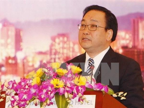 Viceprimer ministro vietnamita visita Mozambique hinh anh 1