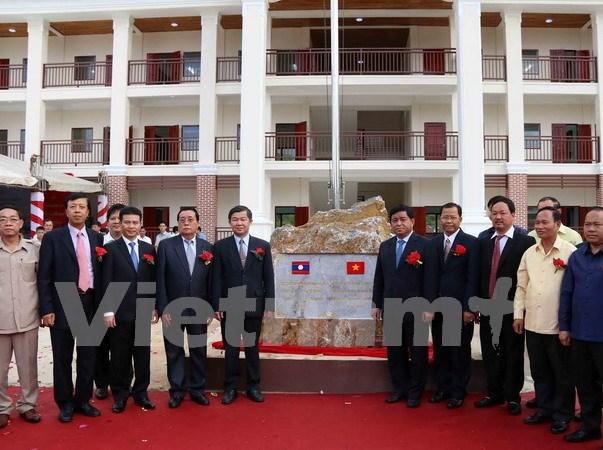 En Laos escuela preuniversitaria financiada por Vietnam hinh anh 1