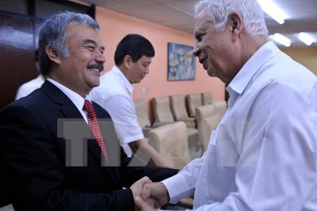 VNA robustece cooperacion con socios cubanos hinh anh 1