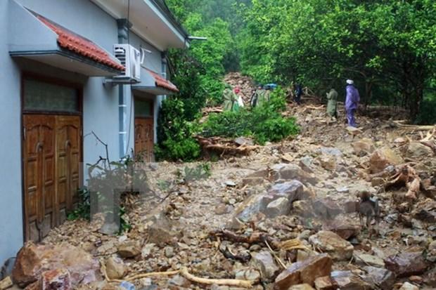 Vicepresidenta visita damnificados por inundaciones en Quang Ninh hinh anh 1