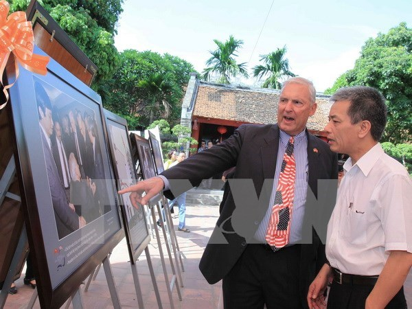 Lazos Vietnam- Estados Unidos alcanzaron su cenit en 2015 hinh anh 1