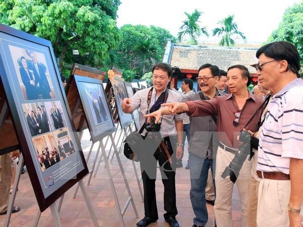 Embajada de Vietnam en EE.UU. celebra 20 anos de nexos bilaterales hinh anh 1