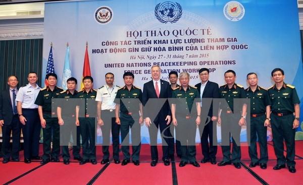 Clausuran seminario sobre mision de mantenimiento de paz de ONU hinh anh 1