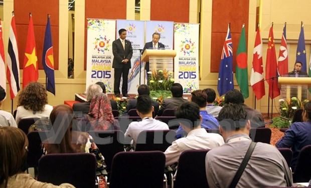 Reunion de Cancilleres de ASEAN debatira asuntos politicos hinh anh 1