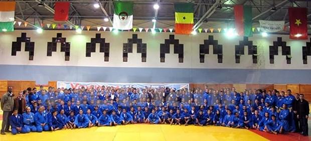 Realizan torneo mundial de Vovinam en Argelia hinh anh 1