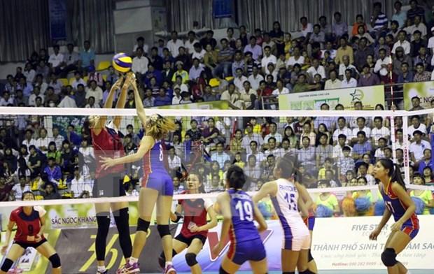Tailandia, campeon de copa de voleibol femenino VTV 2015 hinh anh 1