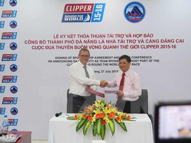 Da Nang acogera Vuelta al mundo a vela Clipper Race hinh anh 1