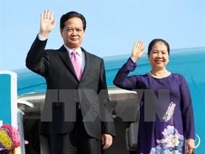 Premier vietnamita visitara Malasia y Singapur hinh anh 1
