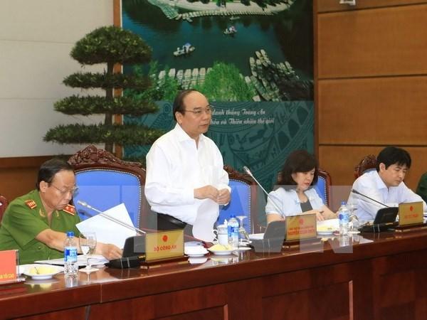 Vicepremier dirige revision de especiales casos de amnistia hinh anh 1
