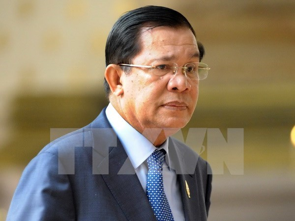 Premier cambodiano urge a resolver disputas maritimas mediante dialogo hinh anh 1