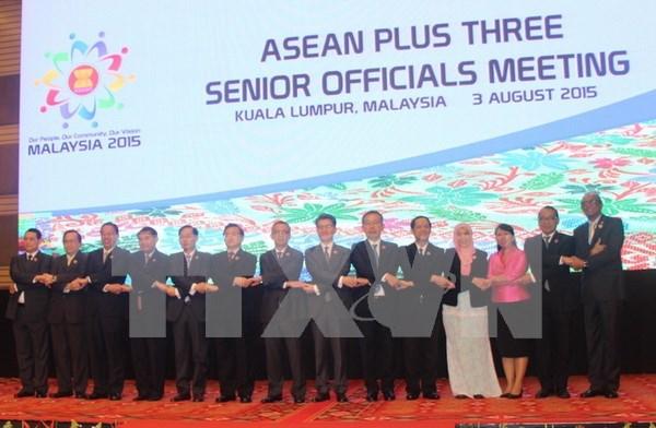 ASEAN y socios debaten itinerarios para cooperacion futura hinh anh 1
