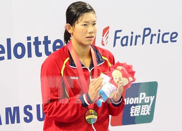 Anh Vien ganara medallas en torneos asiaticos hinh anh 1