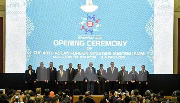 Inauguran 48 Reunion de Cancilleres de ASEAN hinh anh 1