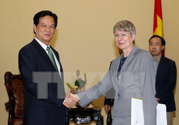 Prioriza Vietnam relaciones con Alemania hinh anh 1