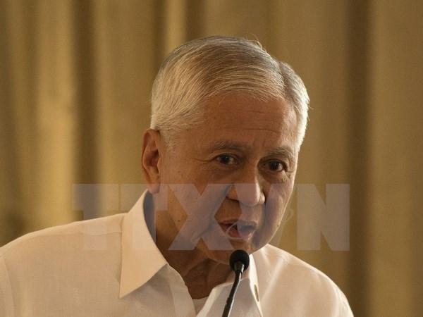 Filipinas apoya llamada de EE.UU de rebajar tension en Mar Oriental hinh anh 1