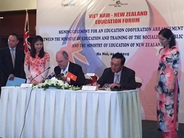 Vietnam y Nueva Zelanda aceleran cooperacion educacional hinh anh 1