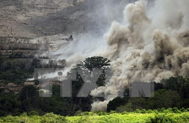 Inundaciones y erupcion del volcan causan secuelas en Sudeste de Asia hinh anh 2