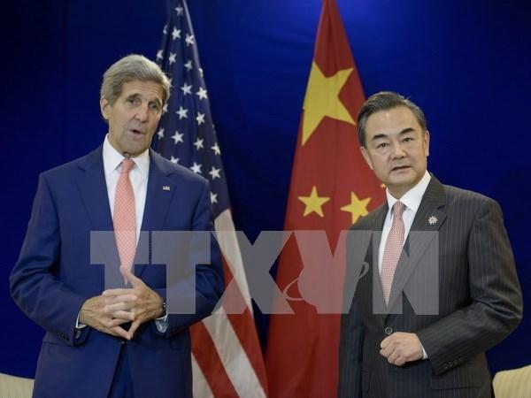 EE.UU. manifiesta inquietud por actividades chinas en Mar Oriental hinh anh 1