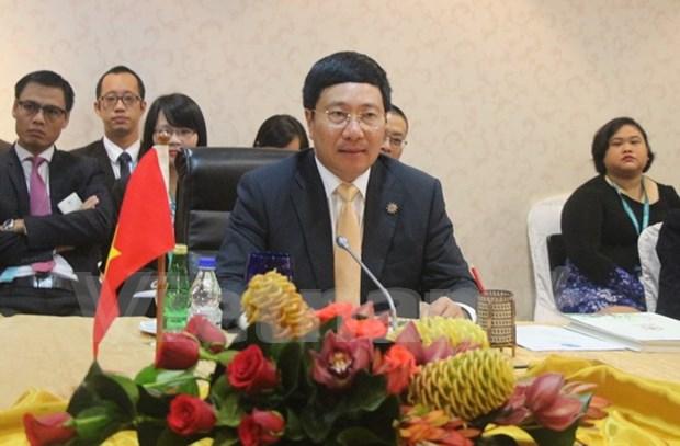 Incentiva Vietnam desarrollo sostenible en Bajo Mekong hinh anh 1
