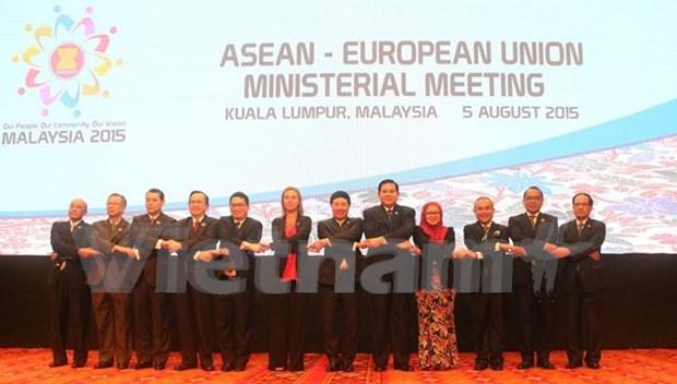 ASEAN y socios comprometidos a reforzar cooperacion regional hinh anh 1
