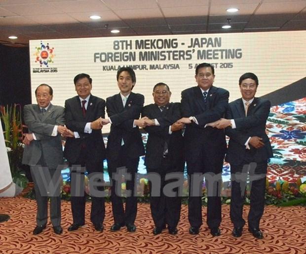 Agilizan colaboracion Mekong- Japon y Mekong-Sudcorea hinh anh 1