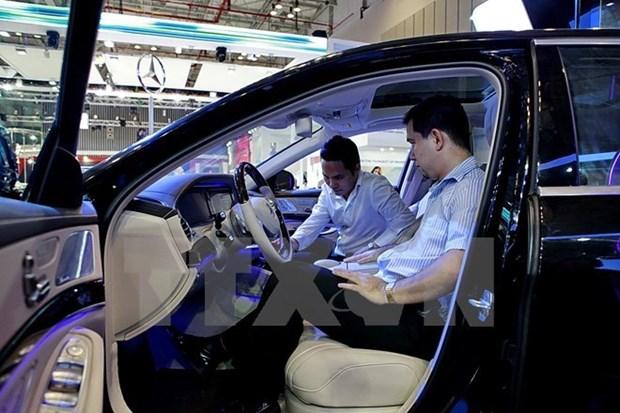 Venta automovilistica de Vietnam registra fuerte incremento hinh anh 1