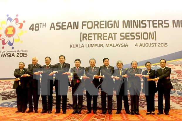 AMM 48 centra atencion en asuntos de Mar Oriental hinh anh 1