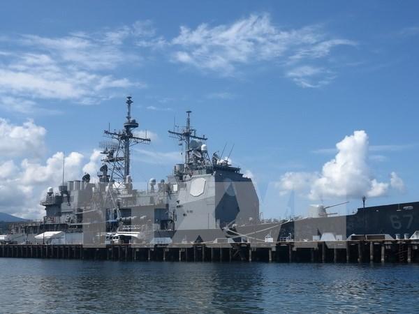 Discuten EE.UU. y Filipinas sobre disputas en Mar Oriental hinh anh 1