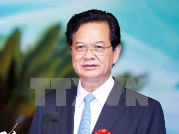 Primer ministro vietnamita parte a Malasia hinh anh 1