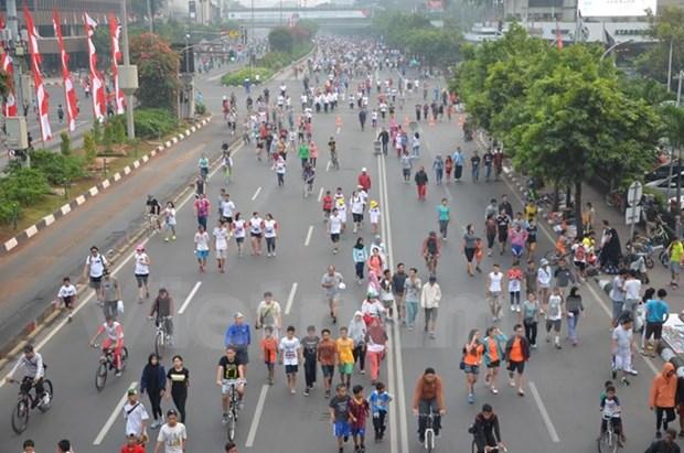 Celebran en Indonesia Dia de ASEAN hinh anh 1