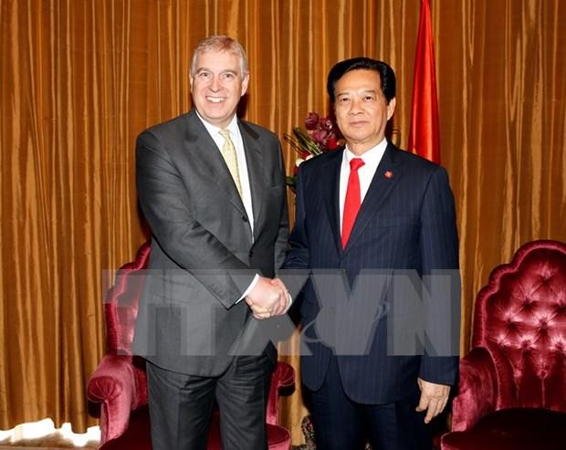 Profundizan Vietnam y Reino Unido asociacion estrategica hinh anh 1