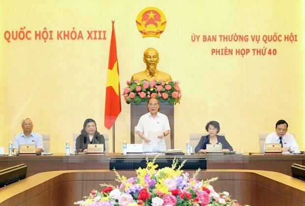 Comite Permanente del Parlamento inicia cuadragesima reunion hinh anh 1