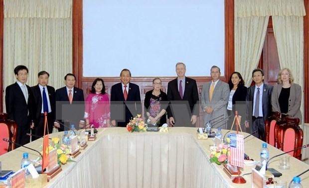 Impulsan Vietnam y Estados Unidos cooperacion judicial hinh anh 1