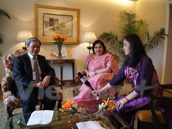 Embajadores: Nexos Vietnam-India parecen mejor que nunca hinh anh 1