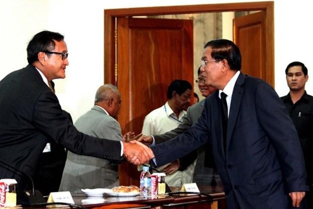 Cambodia: Partidos politicos debaten fecha para elecciones hinh anh 1