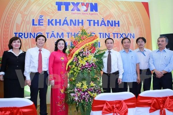 Inauguran Centro de Informaciones de VNA en Hanoi hinh anh 1