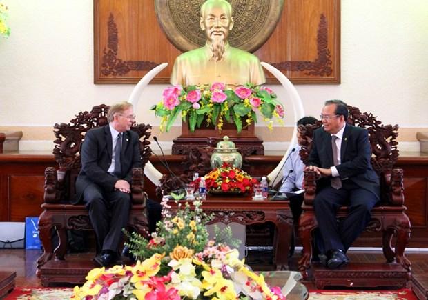 Canada amplia intercambio comercial con Delta de Mekong hinh anh 1