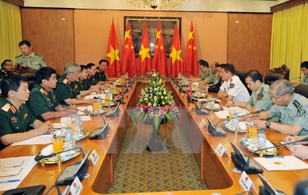 Vietnam y China sostienen quinto dialogo estrategico de defensa hinh anh 1
