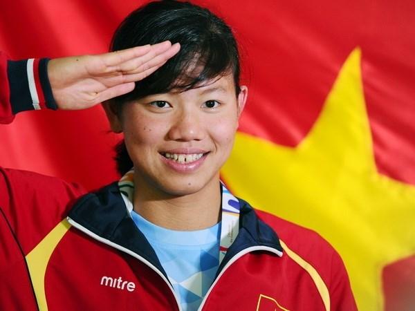 Nadadora vietnamita gana medalla de bronce en Copa Mundial de FINA hinh anh 1