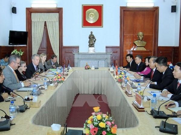 Consolidan Vietnam y EE.UU. cooperacion judicial hinh anh 1