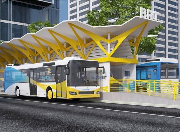 Ciudad Ho Chi Minh invierte 137 millones en buses de transito rapido hinh anh 1