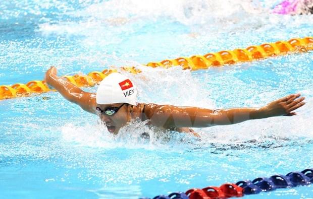Conquista Anh Vien otra medalla en Copa Mundial de natacion hinh anh 1