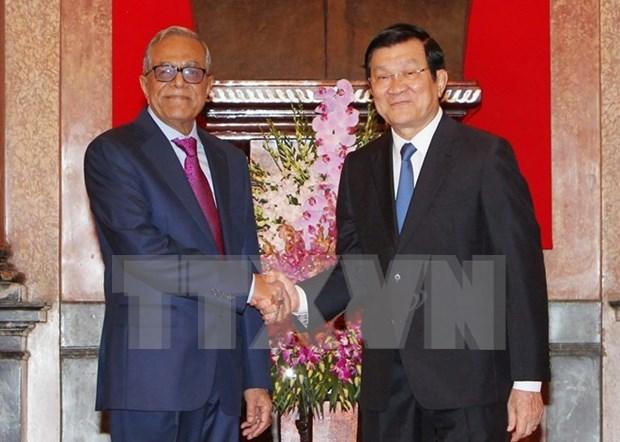 Presidente bangladesi concluye visita a Vietnam hinh anh 1