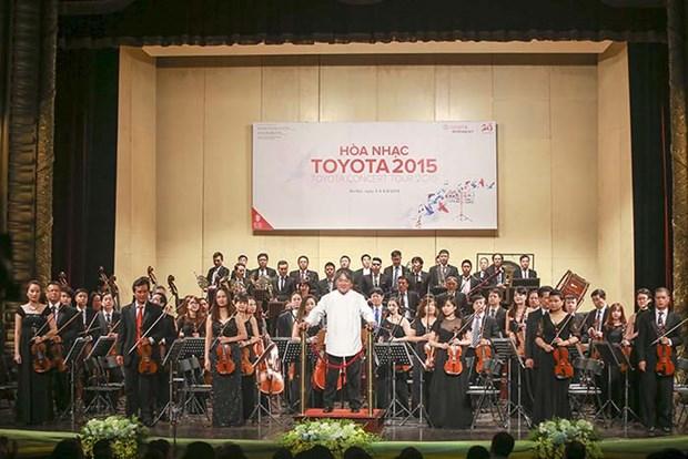 Por primera vez, Concierto Toyota en Thanh Hoa hinh anh 1